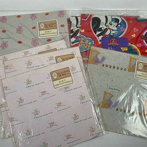 Other - Vintage Gift Wrap Hallmark Looney Tones Lot 8 NEW